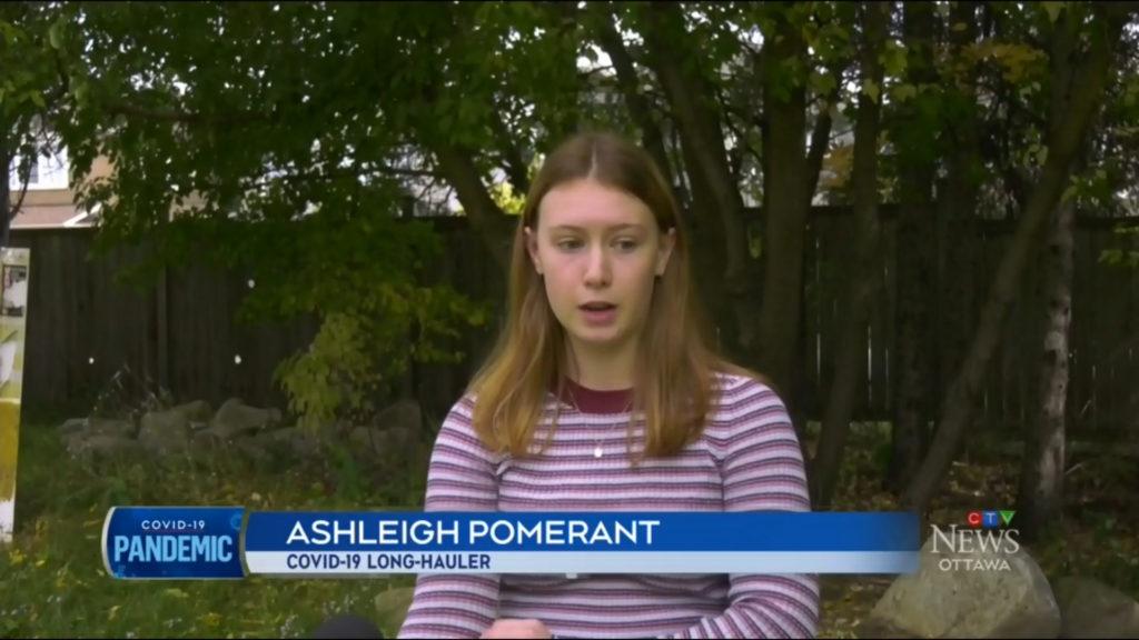 Long-Hauler Ashleigh Pomerant