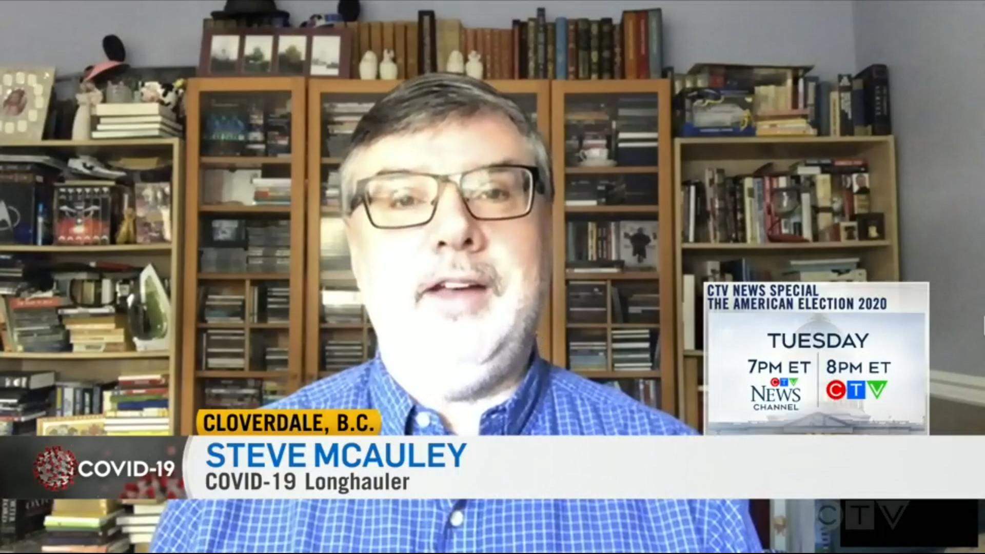 Long-Hauler Steve McCauley
