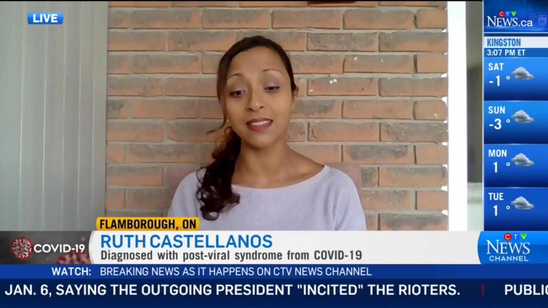 Long-Hauler Ruth Castellanos